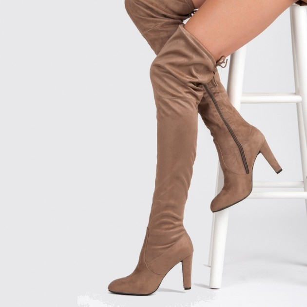 95e98ed7b7a44 Vysoké čižmy - čižmy nad kolená | PEKNÉ TOPANKY