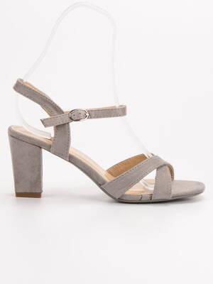 40d15e45e322 Sivé sandále na leto JUMEX FH39002G