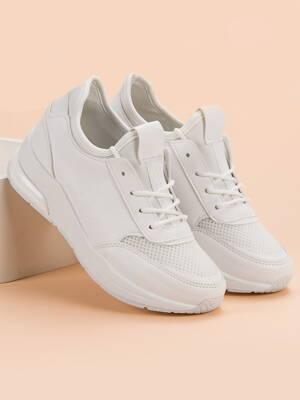 f090f5bda6c5 Biele dámske tenisky IDEAL W-3110W