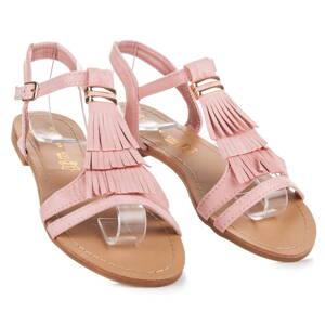 5cf6f625ed8f Ružové dámske sandále