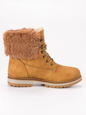 Zimné topánky na šnurovanie LV65C 2d01e166224