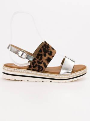 e17a98d8babd Pohodlné sandálky na leto F056LEO