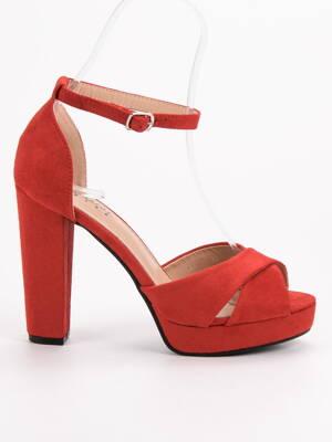 8604647ae1 Vysoké sandále na platforme