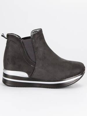 2818f57cc523 Členkové topánky na platforme