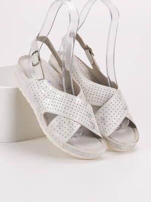 79ef4ca13a05 Biele sandále TIFANY GD-FL269W