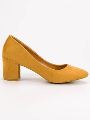 859df1d1db9 Dámske žlté lodičky IDEAL D-1228Y