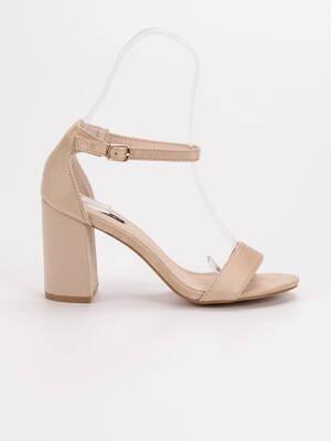 eb60c54b784a Elegantné béžové sandále VICES 6266-14BE