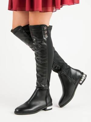 d777f5722295 Vysoké čižmy - čižmy nad kolená