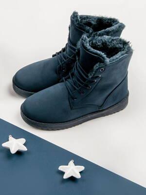 b662f88cbf03 Dámske topánky na zimu FOREVER 2017-09BL