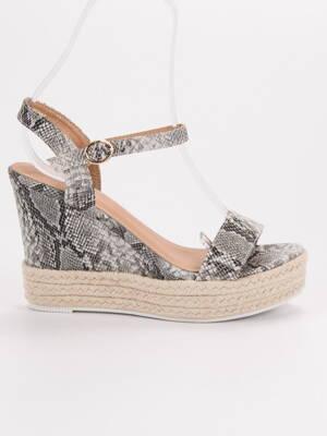 315c048b9f6c Vysoké hadie sandále ESPADRO JS-2952SNA