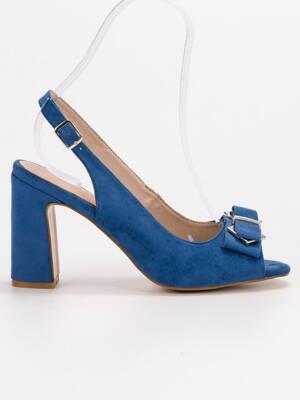 2cd63e97f Elegantné sandále na opätku YQE19-17006BL