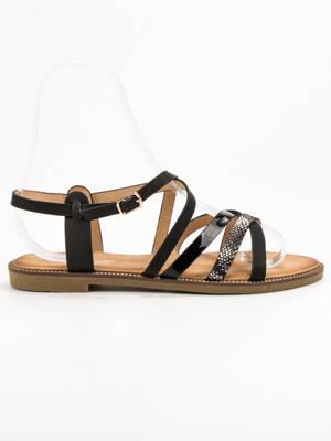 0da7a56121 Čierne sandále ERIN LS017T0-1B
