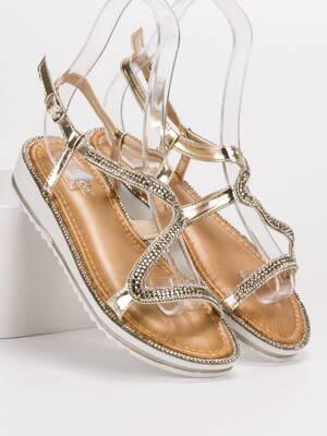2283c744f06dd Sandále na nízkom podpätku | peknetopanky.sk