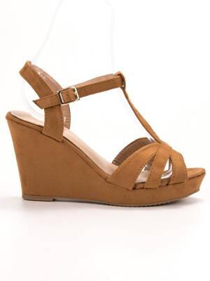 ad5c3e5d7 Sandále na vysokom podpätku | peknetopanky.sk