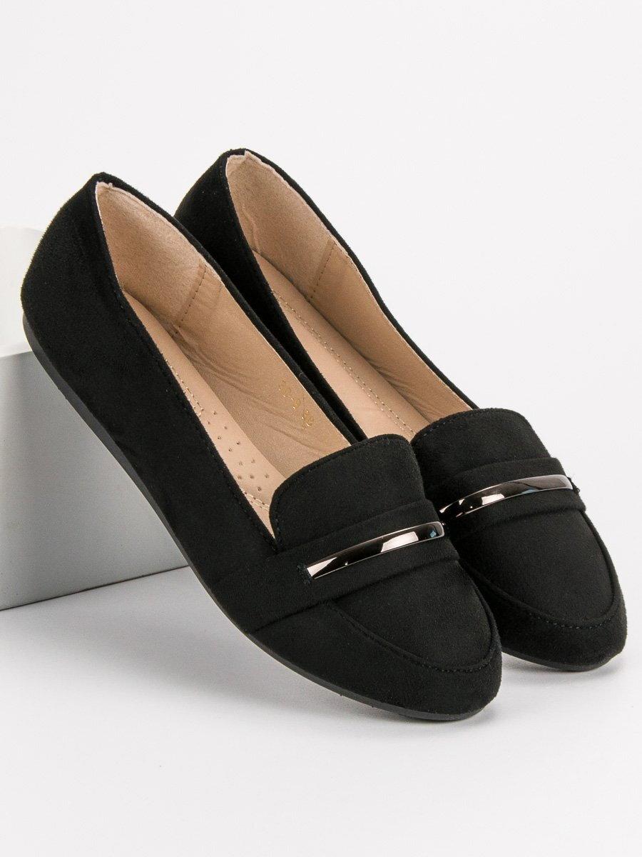 26691e675 Dámske čierne topánky na jar 3C-9B