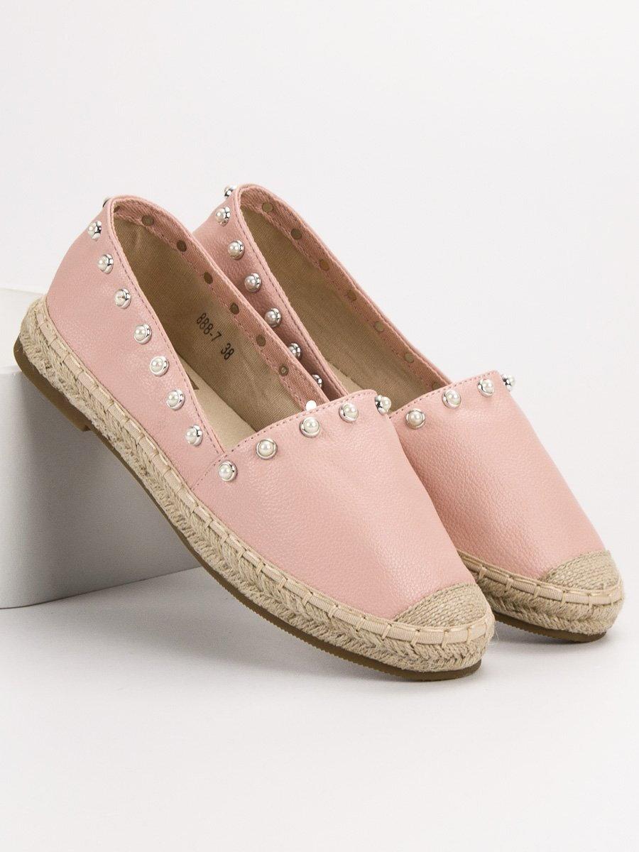 f6c59064c834 Jarné ružové topánky ESPA 888-7P