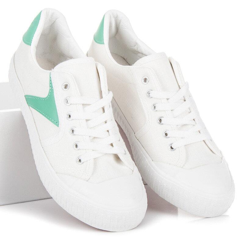 Biele dámske tenisky KYLIE K1830402BLA 1b9aecb0833