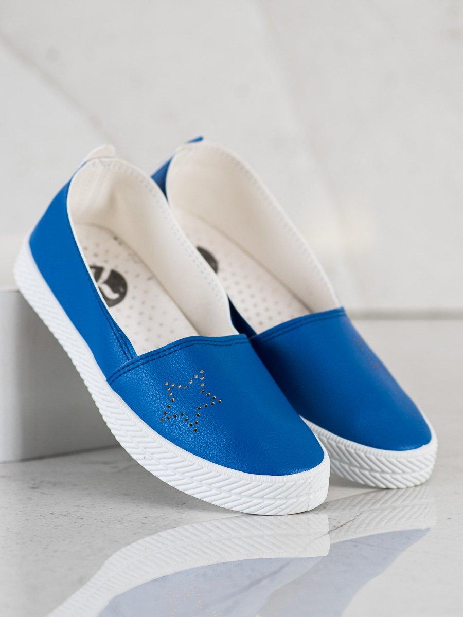 294a702d67 Modré tenisky SLIP ON K1832303AZ