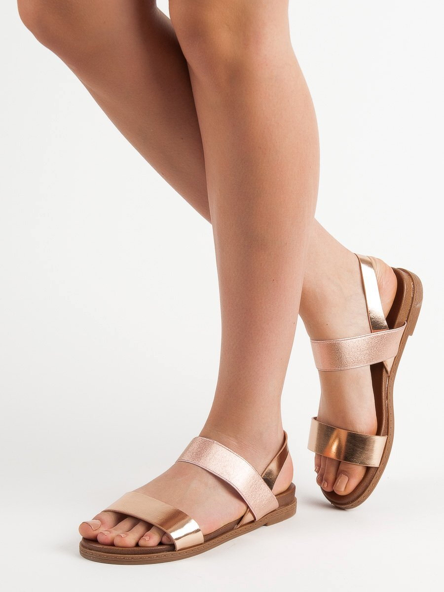 c8b7ae11d007 Dámske medené sandále HOLLY WL036CHA