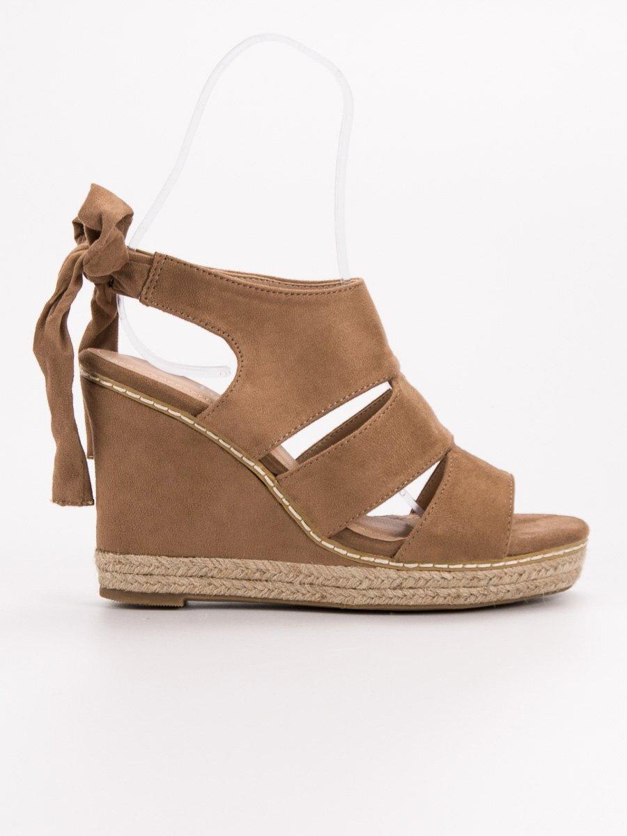 d14785d0f588 Vysoké sandále na kline 66-358C