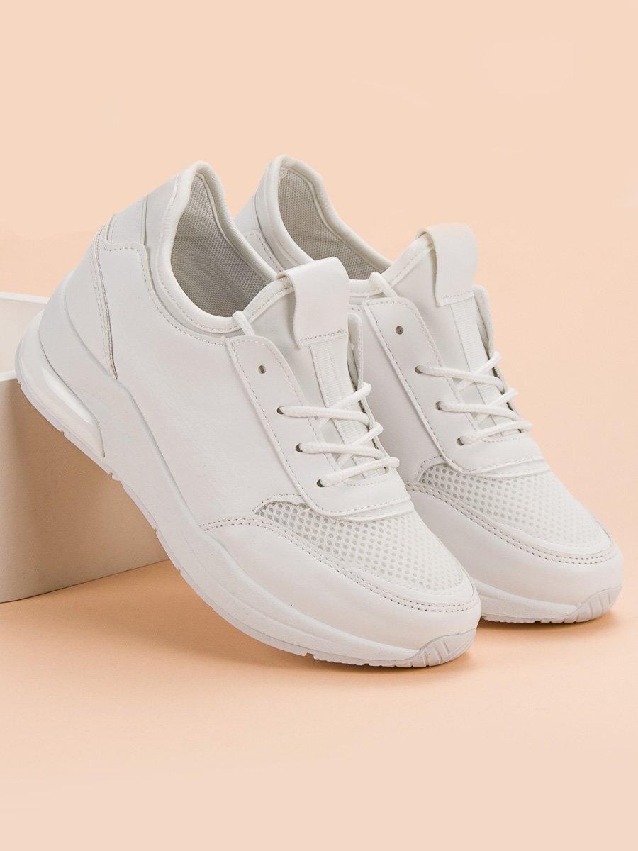 2f5602d4e0 Biele dámske tenisky IDEAL W-3110W