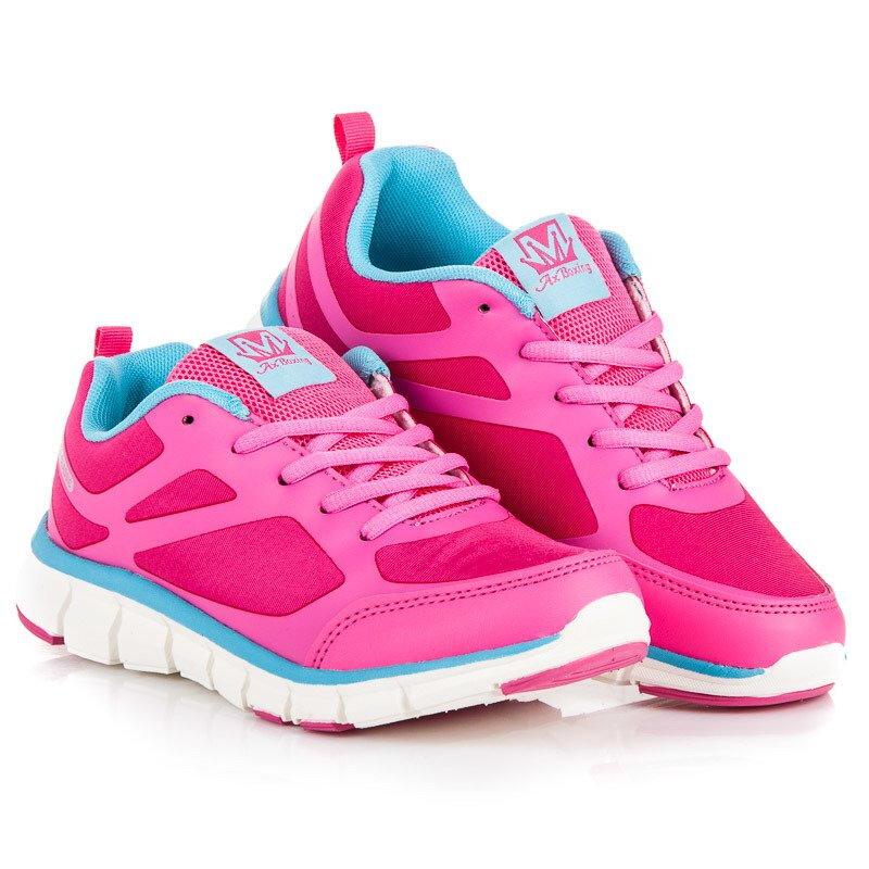 466010e3a Ružové dámske botasky CLASSIC B8170PE-BL