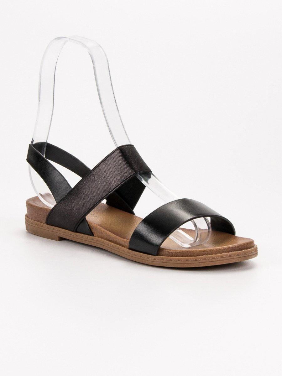 e3ffc1150092 Dámske čierne sandále HOLLY WL036B. PrevNext