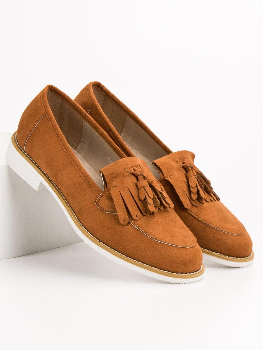 bdb4c352ca21 Dámske hnedé topánky na jar 7318-17C