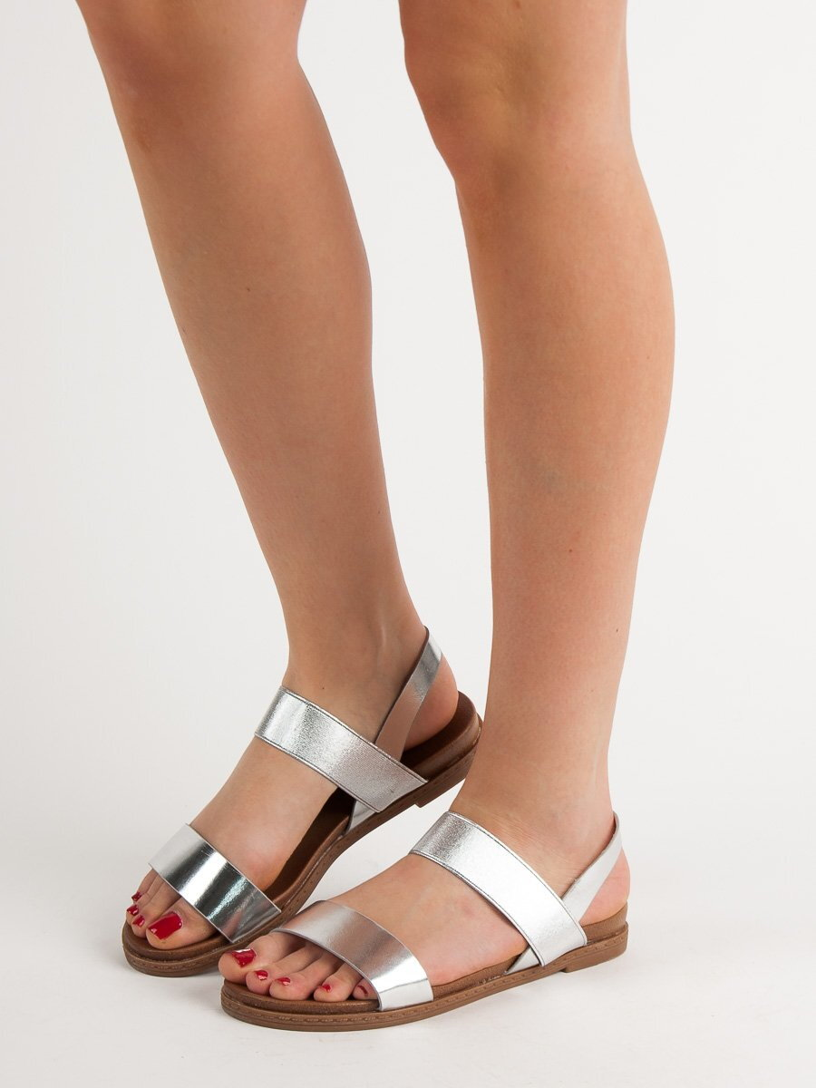 938d58d0d945 Dámske strieborné sandále HOLLY WL036S. PrevNext
