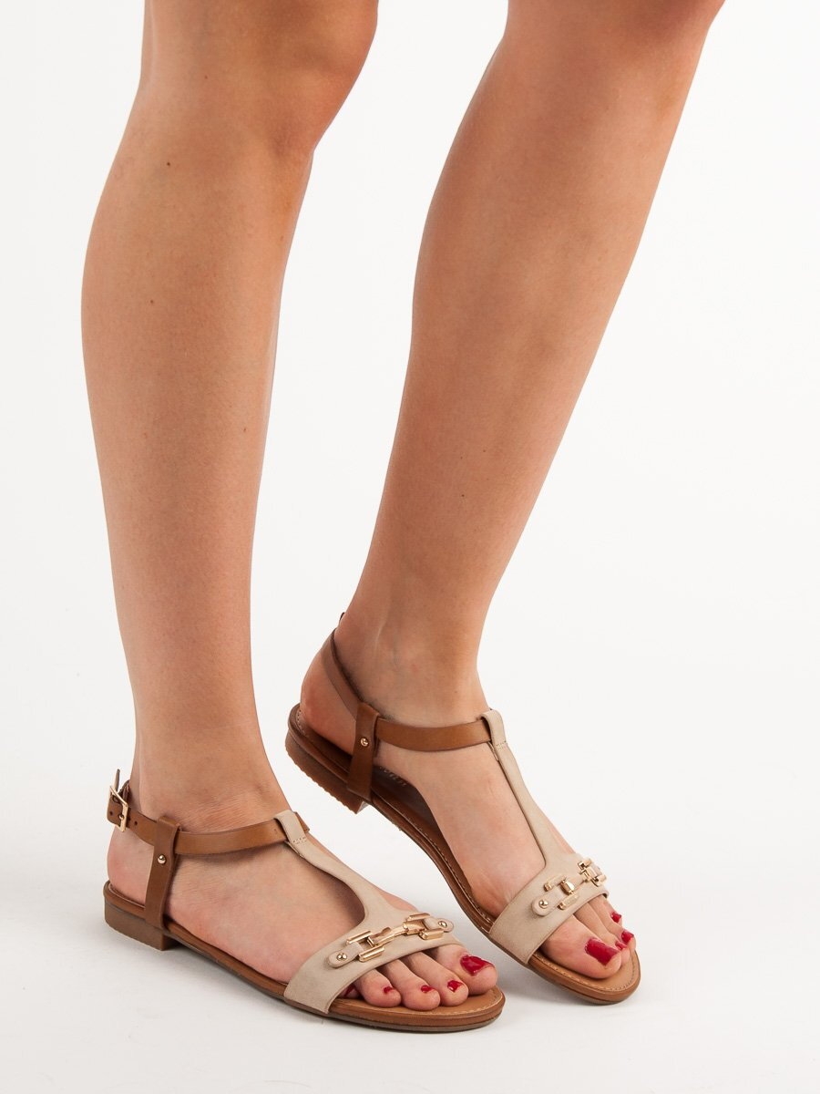 7a023e904240 Sandále na leto LEROS FE06BE