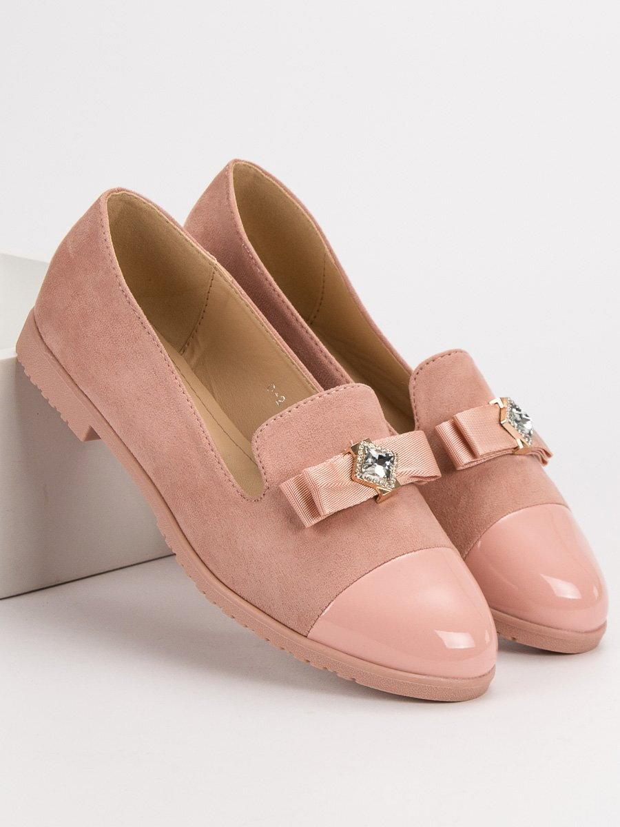 518ea420c41e Ružové dámske balerínky ROXY D-2P