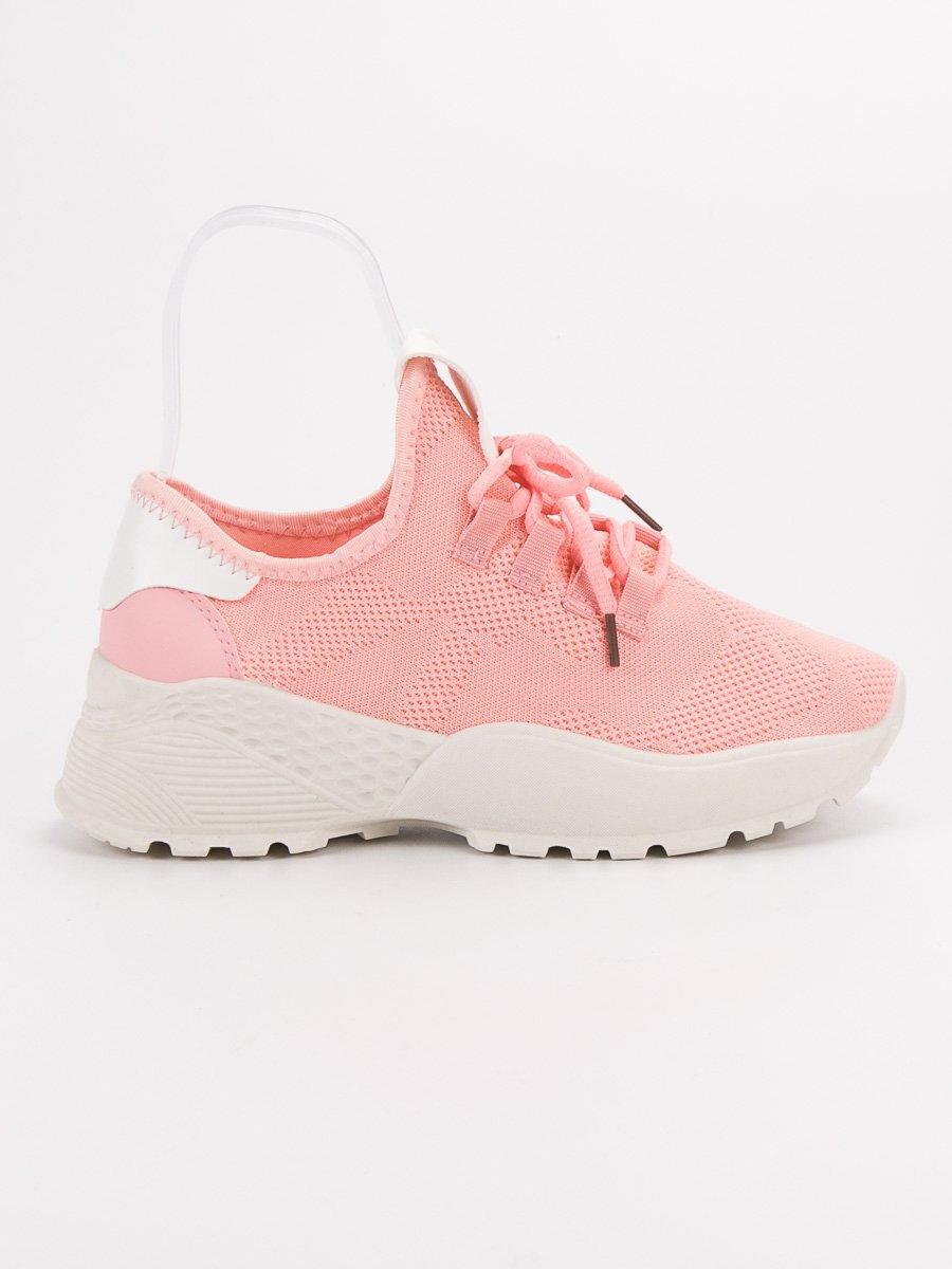 1d471e0a07f2 Ružové botasky na platforme JB025-20P. PrevNext
