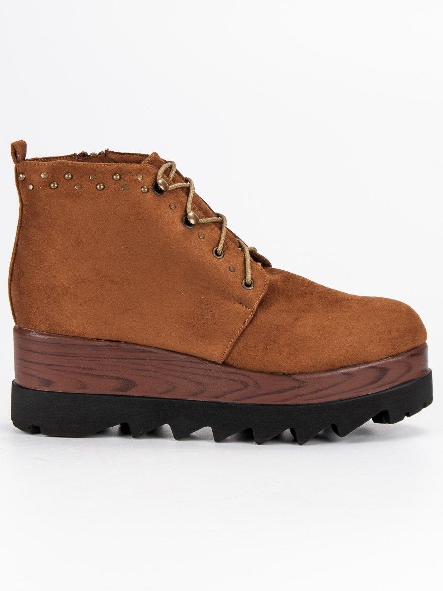 Topánky na vysokej platforme K1718404CU 6db61fba102