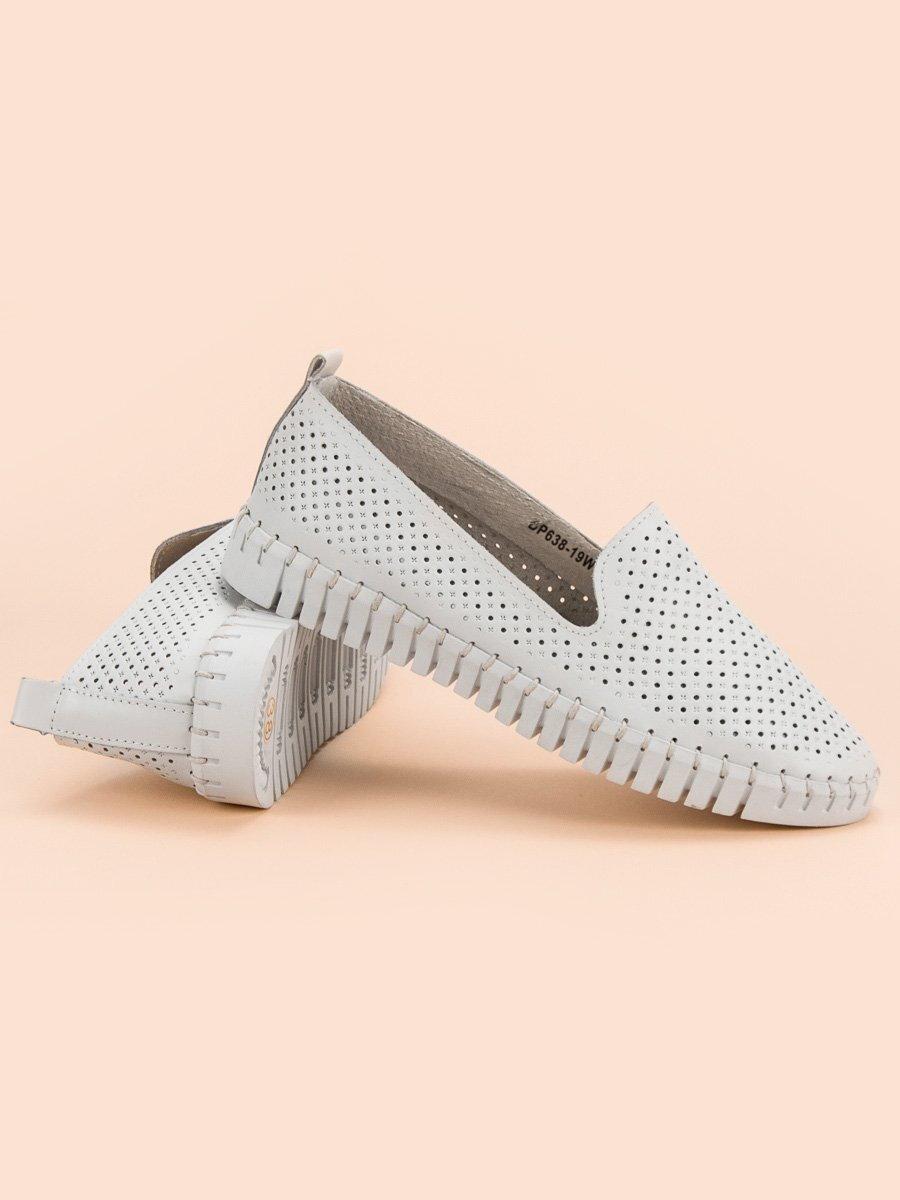 8fdbdae88354 Biele kožené topánky dámske DP638 19W. PrevNext