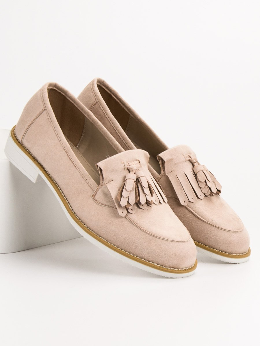 34fc22107445 Dámske béžové topánky na jar 7318-14BE