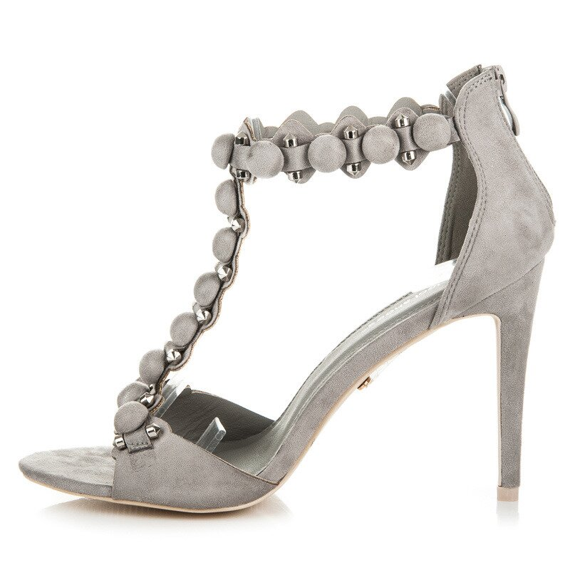 d58d387f0deb Elegantné sandále na podpätku-výpredaj Elegantné sandále na podpätku- výpredaj