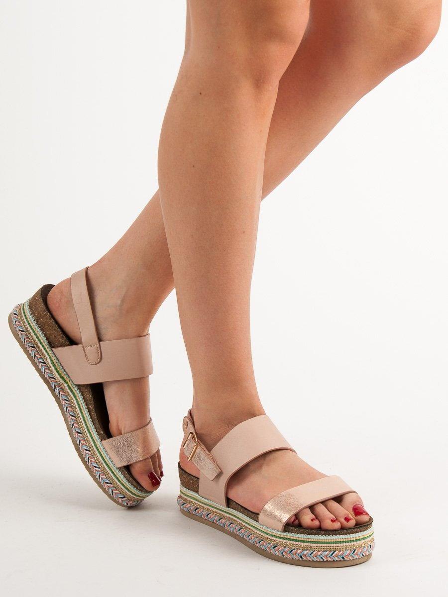 048c5e1ecca2 Ružové sandále na platforme AK26P. PrevNext