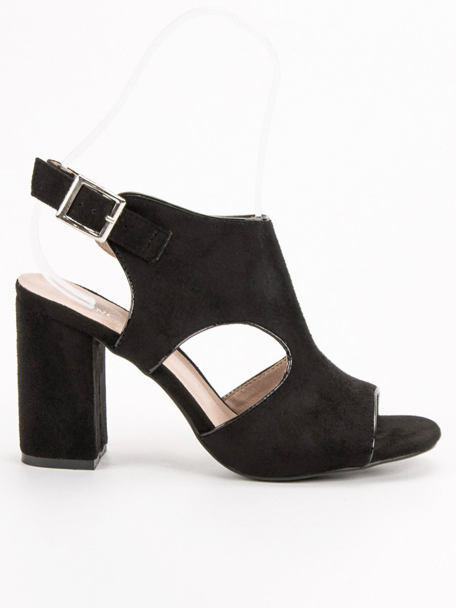 1d4f3f2445ab Dámske sandále na opätku VINCEZA YQE19-17004B