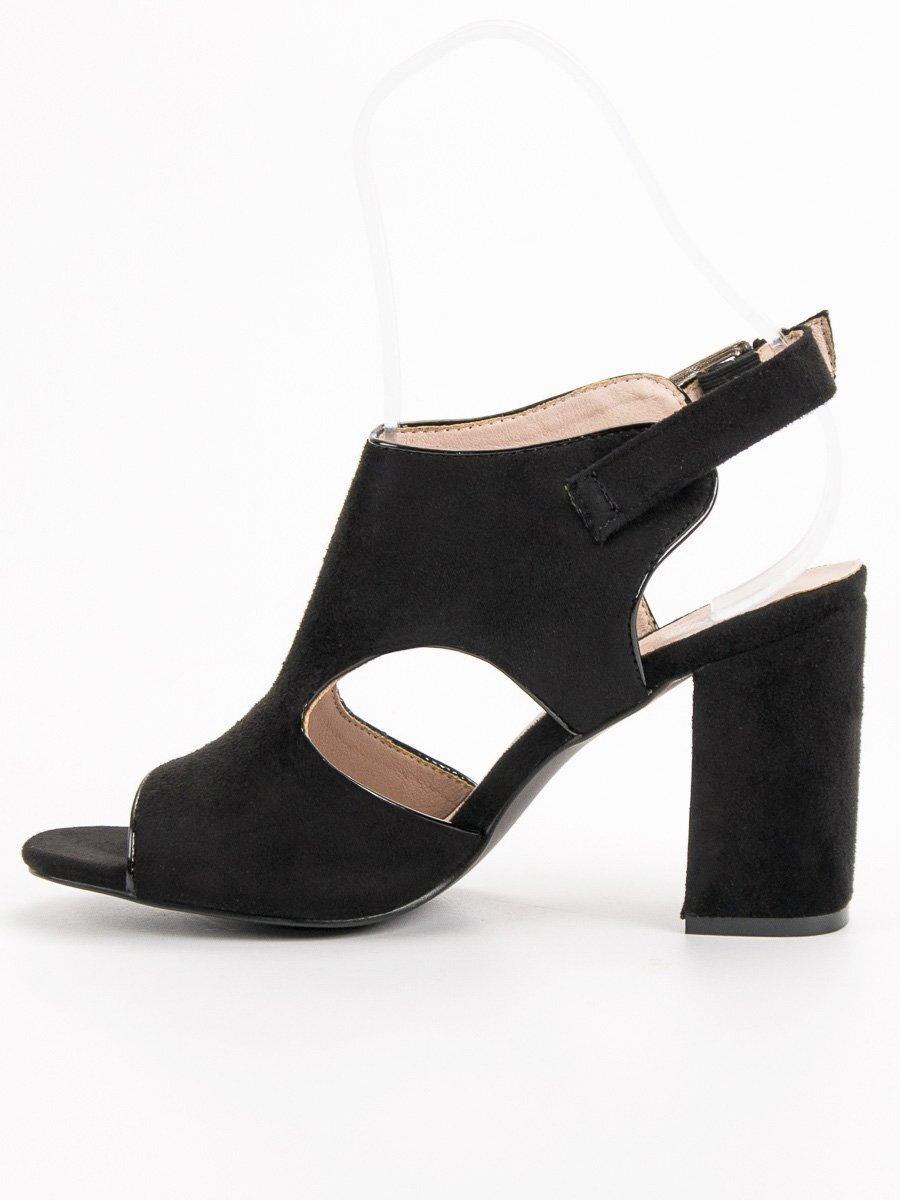 f90616e1fcec Dámske sandále na opätku VINCEZA YQE19-17004B. PrevNext