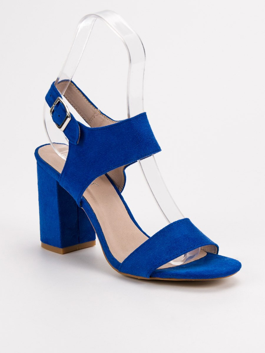 b83a45ab5162 Dámske modré sandále VINCEZA YQE-17003BL