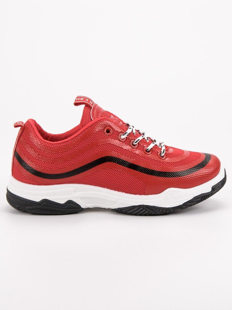 ba7f052c24 Červené športové topánky YM-28R