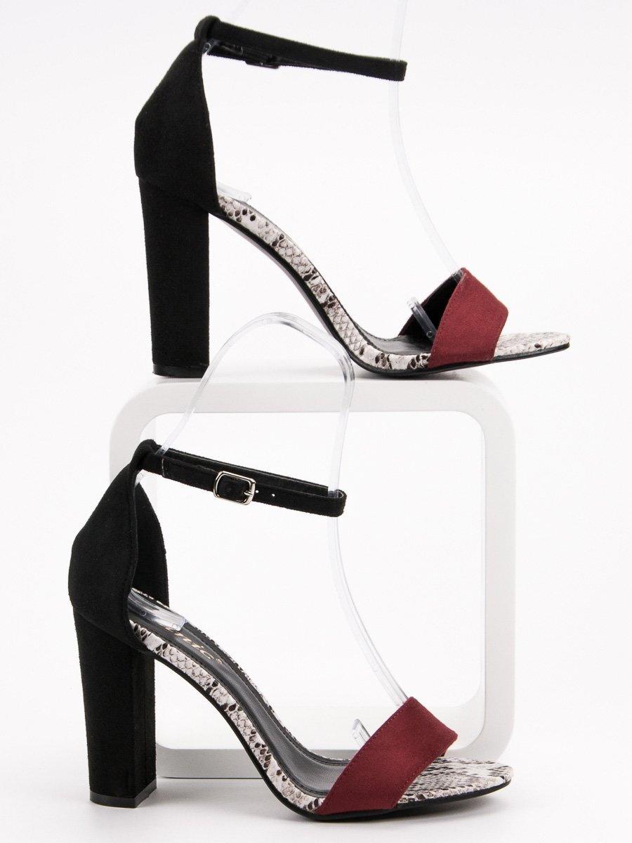 9a00aec1e0 Dámske elegantné sandále DANIC K622-7B WIN