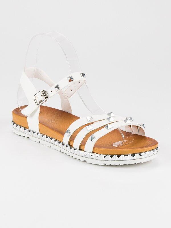 62645c53dec5 Dámske vybíjané sandále ROCK WSJ-50W