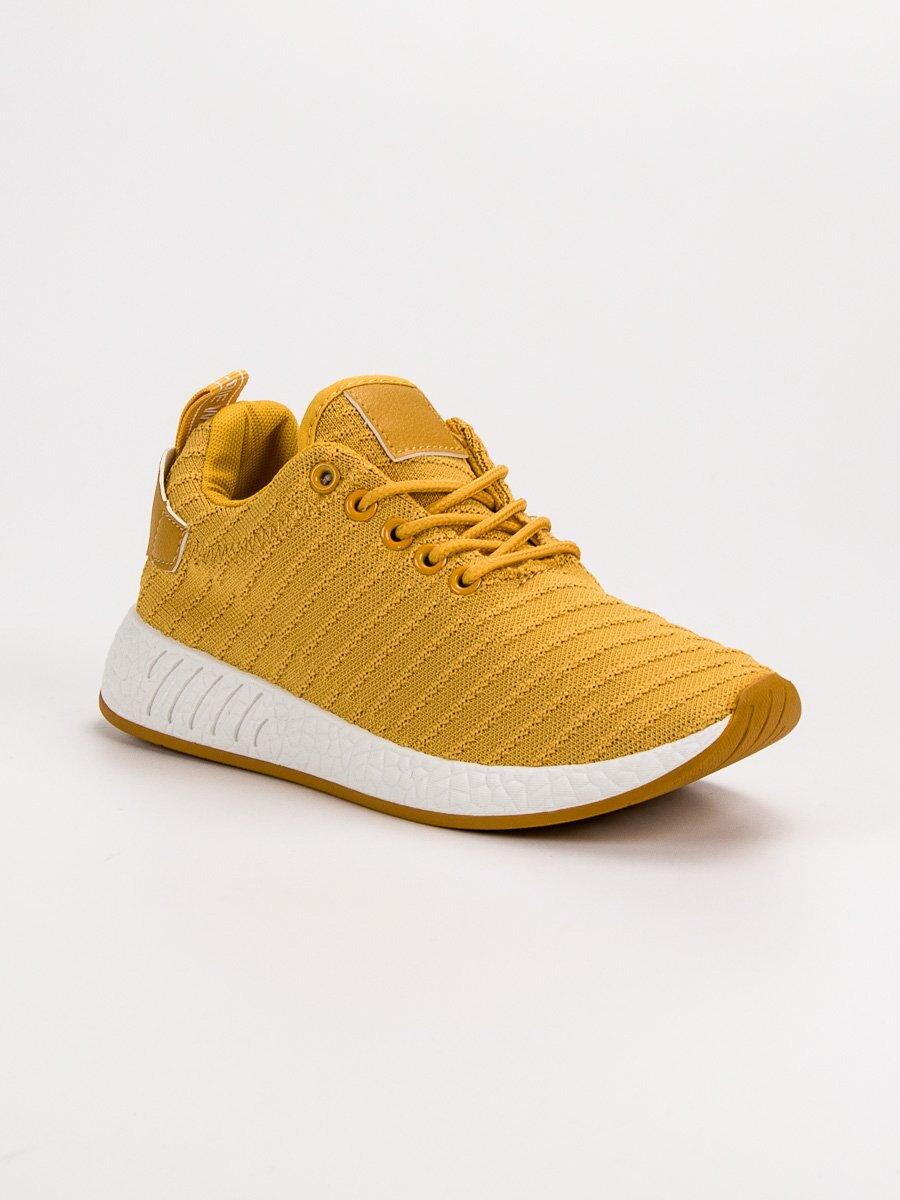 46e39599e1 Žlté dámske tenisky ROMA MDB-12Y