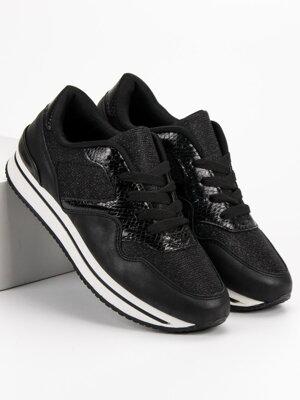 Športové topánky na platforme 3474517a1dc